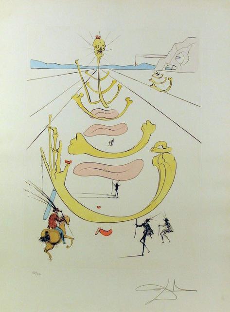 Salvador Dalí, 'Masque De La Mort ', 1975, Gregg Shienbaum Fine Art