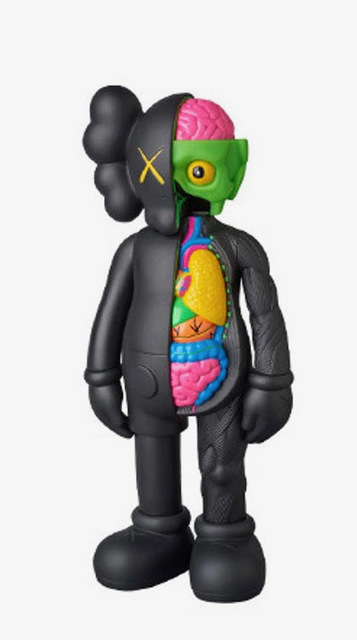 KAWS, 'Dissected Companion (black)', 2016, Il Concept Art Gallery