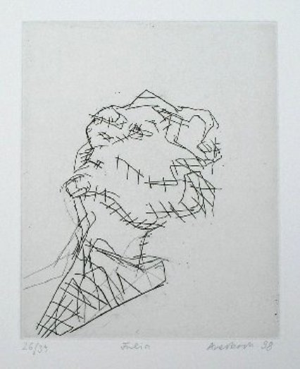 , 'Reclining Head of Julia,' 1988, Nicholas Gallery