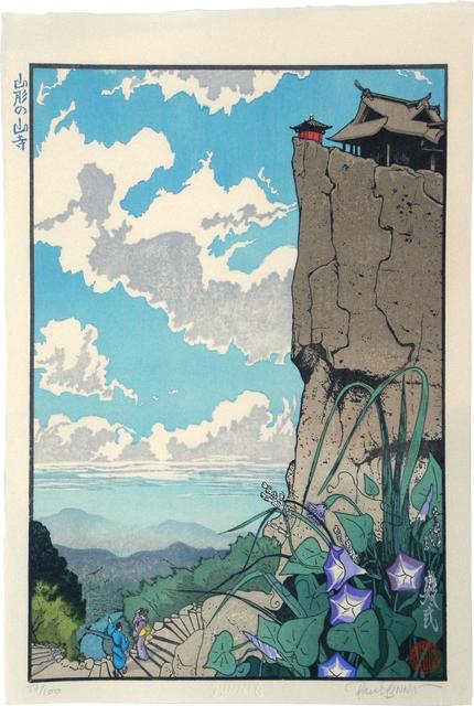 Paul Binnie, 'Famous Views of Japan: Mountain Temple in Yamagata', 2005, Scholten Japanese Art