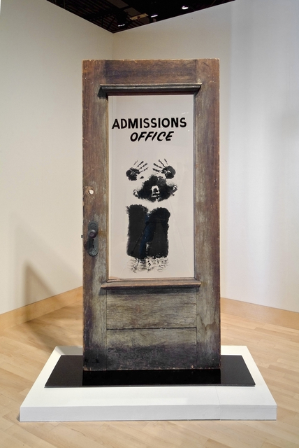 , 'The Door (Admissions Office),' 1969, Brooklyn Museum