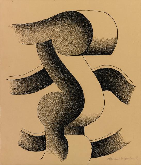 , 'Elément de fauteuil,' ca. 1931, Waterhouse & Dodd