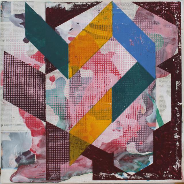 , 'o.T. (kommt mit schweben I),' 2018, Galerie Heike Strelow