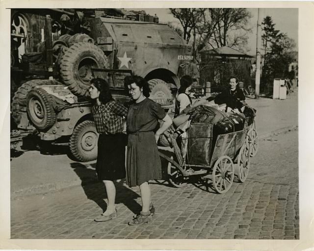 , 'Looters in Frankfurt,' Printed 1945, Be-hold