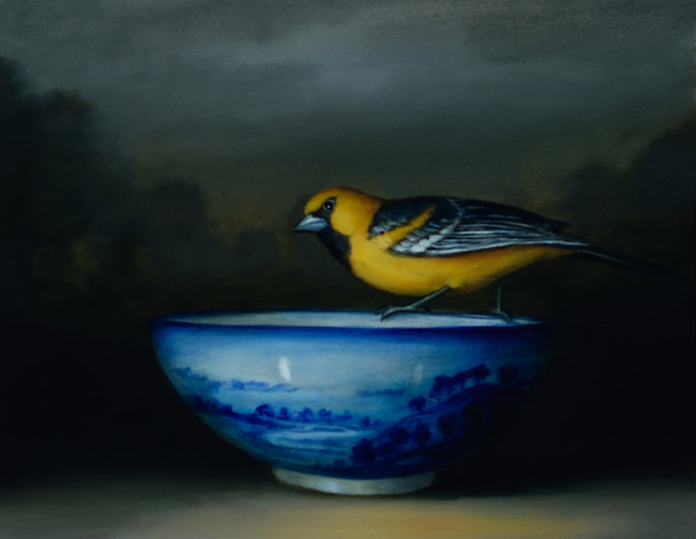 , 'Oriole and Bowl,' 2016, Lisa Sette Gallery
