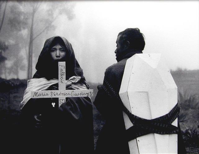 Flor Garduño, 'Fallecio Maria Veronica, Tixan, Ecuador', 1988, Scheinbaum & Russek Ltd.