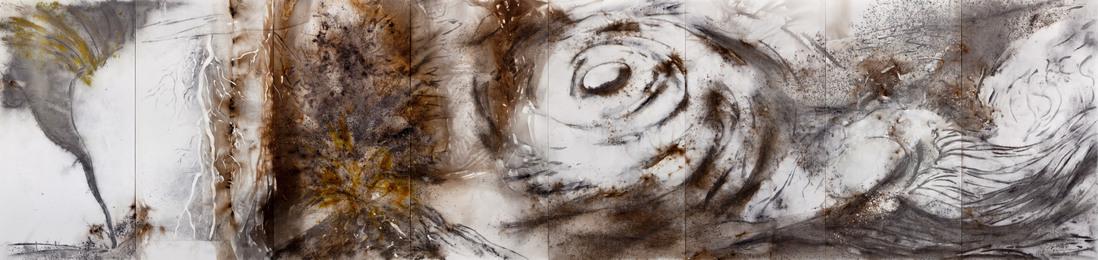 Cai Guo-Qiang, 'Chaos in Nature,' 2012, MOCA, Los Angeles