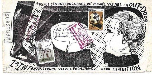 , '1ª Exposição Internacional de Poemas Visuais em Out-Door,' 1978, Galeria Nara Roesler