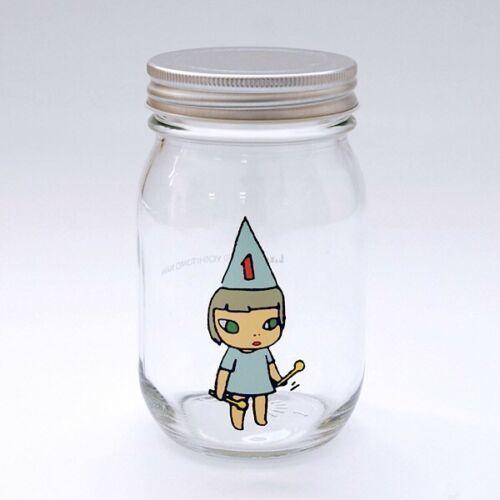 Yoshitomo Nara, 'Girl Storage Jar (450ml, Blue)', ca. 2017, Lex Art Gallery