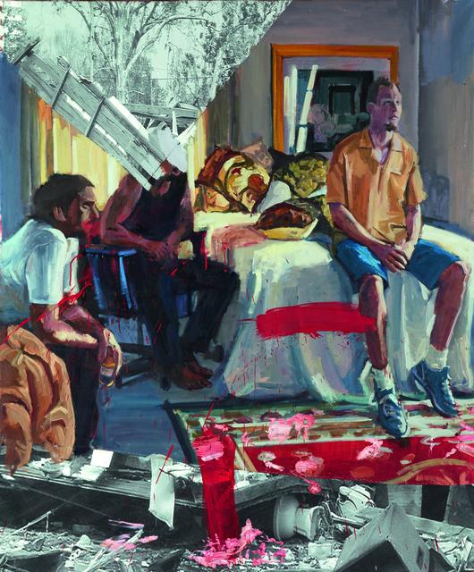 , 'Chicos viendo la tele,' 2016, Fernando Pradilla/El Museo