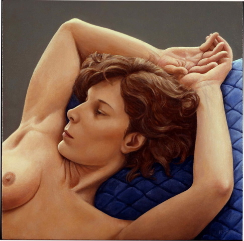 , 'Joyce, Blue Quilt,' , Zenith Gallery