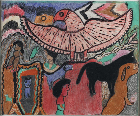 , 'The Eagle Flies,' 1979, Newark Museum