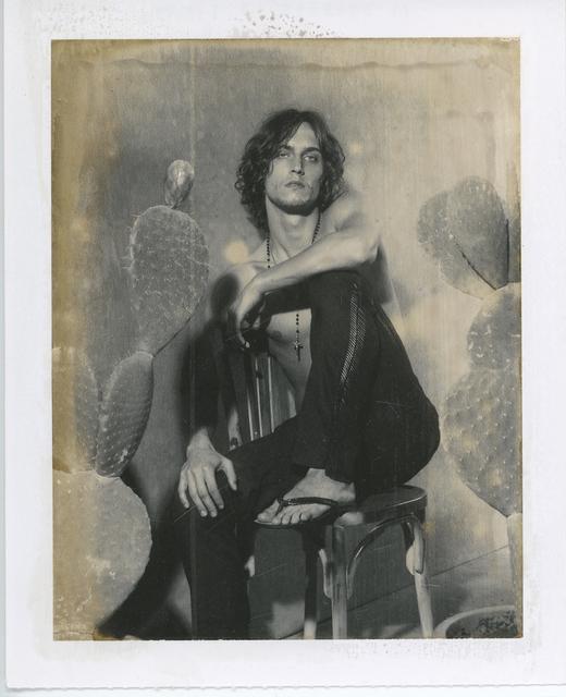 Gian Paolo Barbieri, 'Sebastian Andrieu, Milano', 2002, Photography, Polaroid Type 55 Positive,  29 ARTS IN PROGRESS gallery