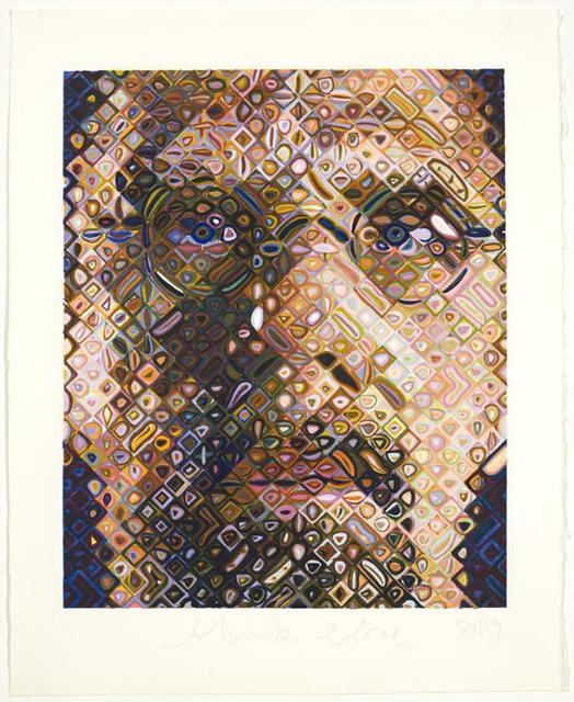 , 'Self-Portrait, Woodcut,' 2009, Contessa Gallery