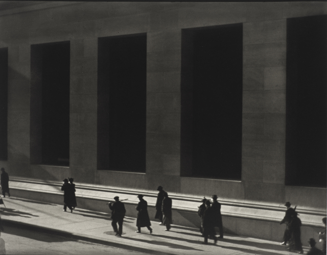 , 'Wall Street, New York,' 1915, de Young Museum