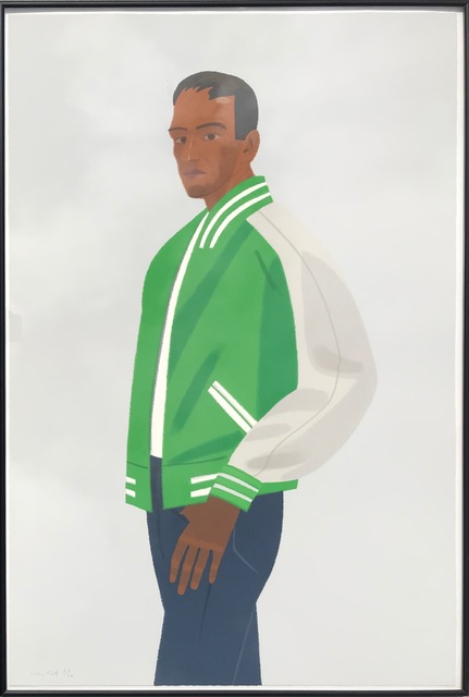 Alex Katz, 'Green Jacket', 1990, Robert Fontaine Gallery