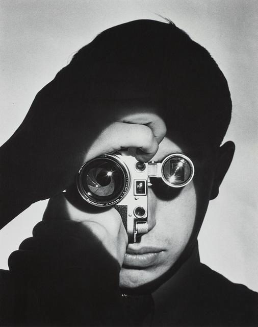 Andreas Feininger, 'The Photojournalist (Dennis Stock)', 1955, Phillips