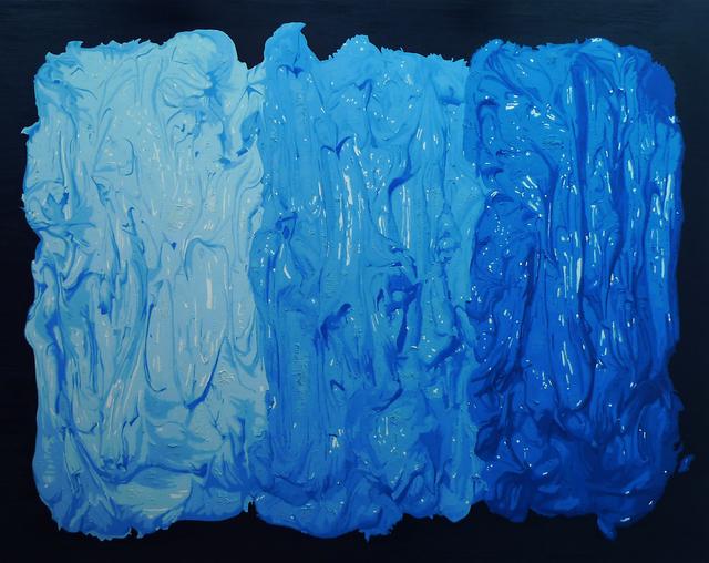 , 'Triple of Blue,' 2010, Galerie du Monde