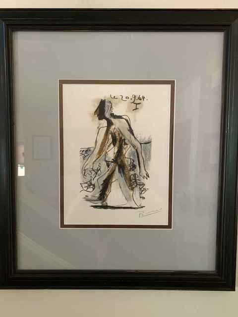 Pablo Picasso, 'Le Gout du Bonheur 30', 1970, Leviton Fine Art