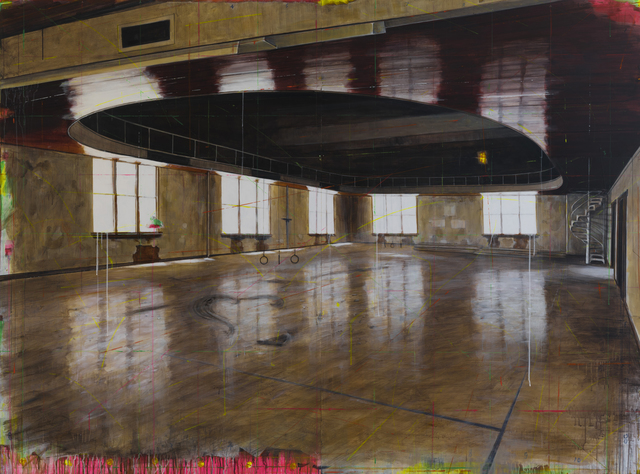 , 'Old School Gym,' 2016, Winston Wächter Fine Art