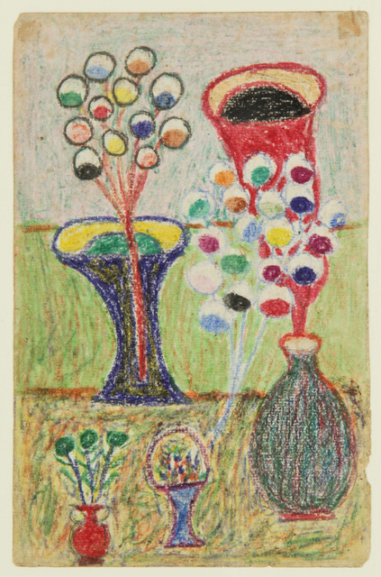 , 'Untitled (Still Life with Vases) ,' ca. 1942, ZQ Art Gallery