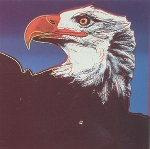 Andy Warhol, 'ENDANGERED SPECIES: BALD EAGLE FS 11.296 BY ANDY WARHOL', 1983, Marcel Katz Art
