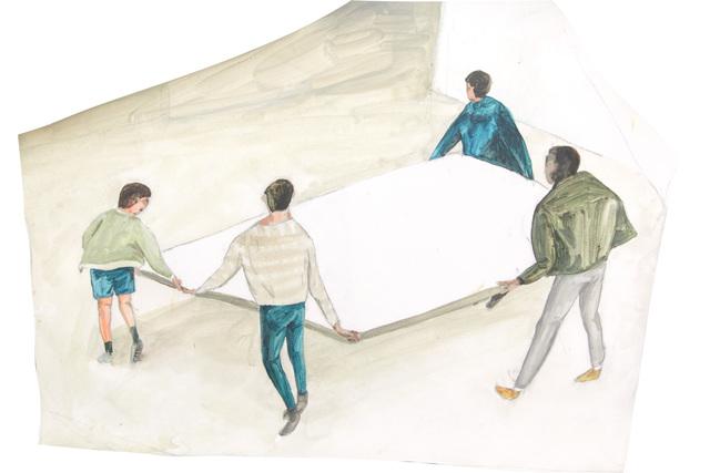 , 'Wall,' 2014, Yiri Arts
