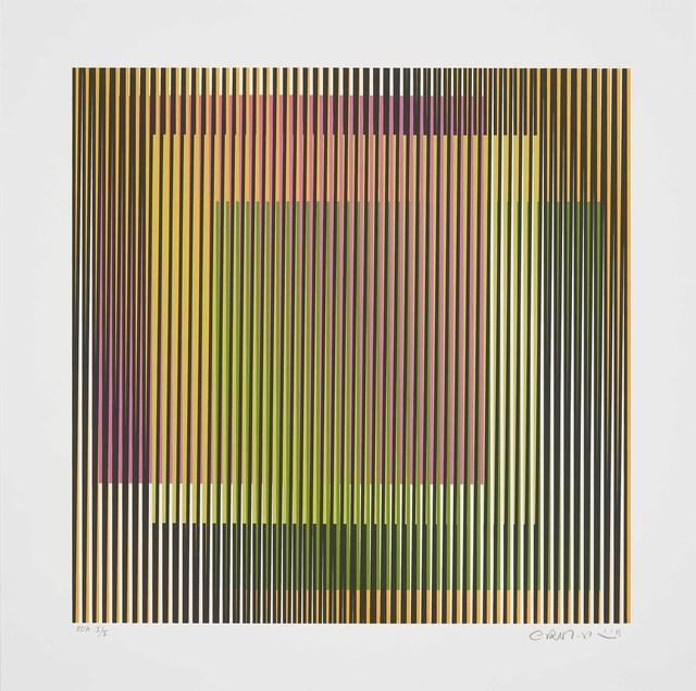 Carlos Cruz-Diez, 'Induction chromatique à double Fréquence 1', 2019, Cristea Roberts Gallery