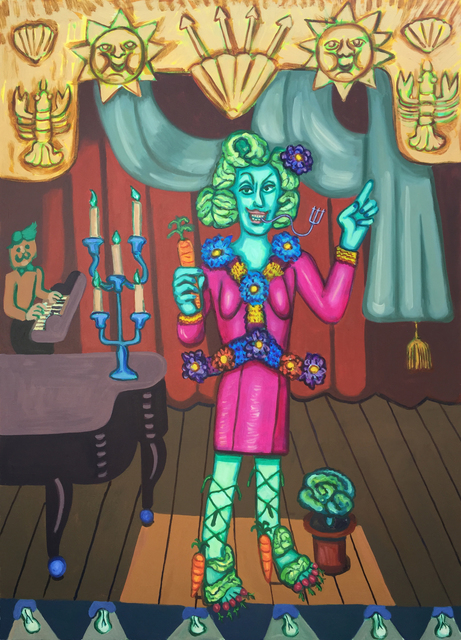 Hannah Barrett, 'Fire Island: Hedda Lettuce', Unknown, Painting, Oil on canvas, Childs Gallery