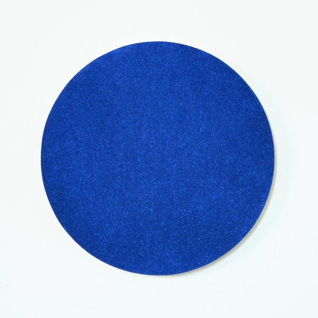 , 'eclipse (blue and black),' 2018, Michael Warren Contemporary
