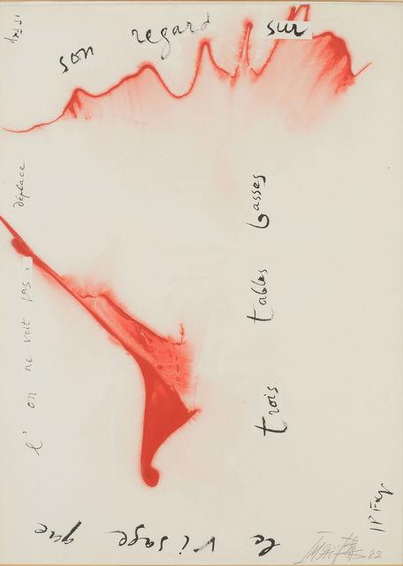 , 'rois talles Lasses,' 1982, Maekawa + Takemura