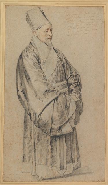 Peter Paul Rubens, 'Portrait of Nicolas Trigault in Chinese Costume', 1617, The Metropolitan Museum of Art