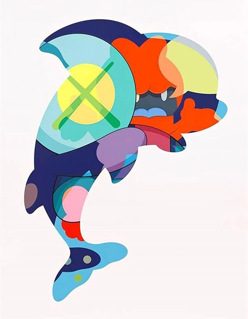 KAWS, 'Piranhas When You're Sleeping', 2016, Gormleys Fine Art