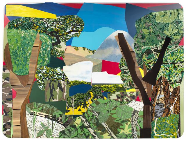 Mickalene Thomas, 'Landscape with Camouflage', 2012, Newark Museum