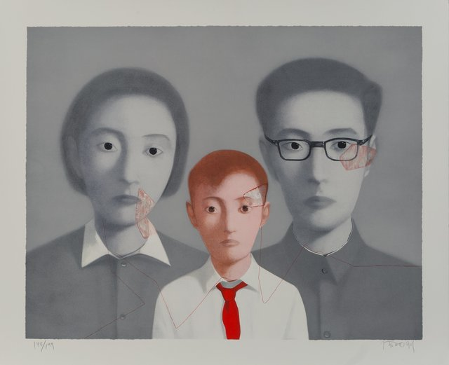 Zhang Xiaogang, 'Big Family from the series Bloodline', 2003, Heritage Auctions