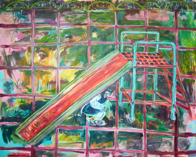 , 'Choices of the Hiding Place: Under the Slide,' 2016, GALERIE OVO