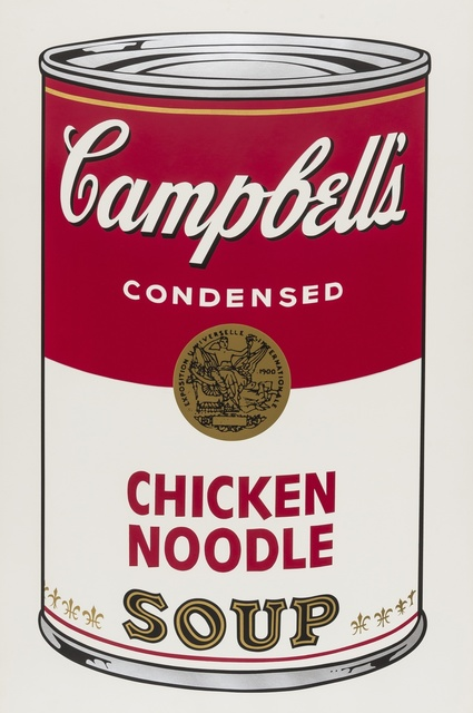 Andy Warhol, 'Campbell's Soup I. Chicken Noodle (Feldman & Schellmann II.45)', 1968, Print, Screen-print in colours, Forum Auctions