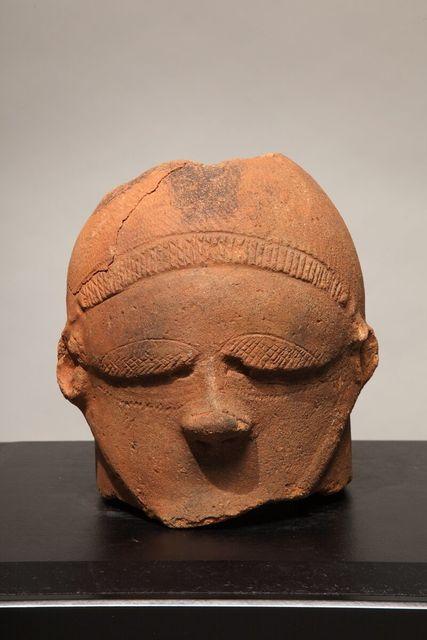 , 'Nok Head,' 1000 BC -300 AD, Bill Lowe Gallery