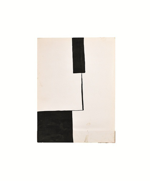 , 'Dividing Space on a White Piece of Paper,' 1965, Galerist