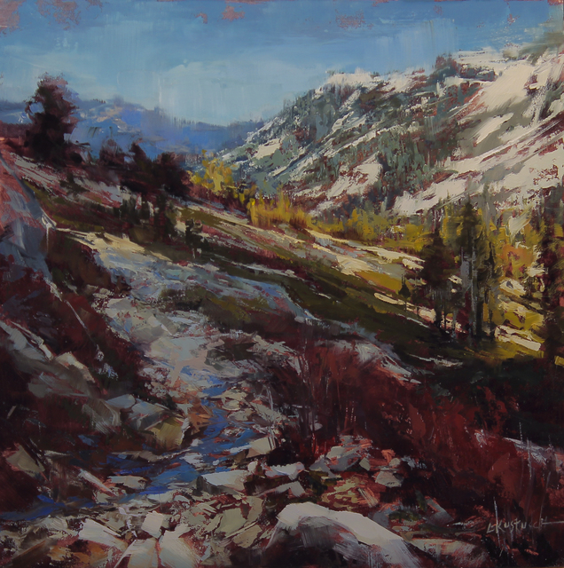 , 'Hiking the PCT,' 2016, Abend Gallery