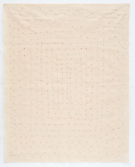 , 'Points cousus (No.inv.55),' 1973-1976, GALERIE ARNAUD LEFEBVRE