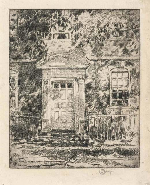 Childe Hassam, 'PORTSMOUTH DOORWAY (C./C. 104)', 1916, Doyle