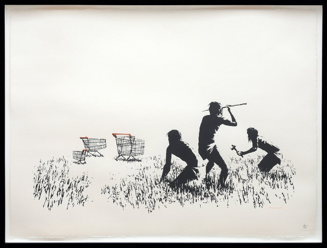 , 'Trolley Hunters (Black and White),' 2007, Peter Harrington Gallery