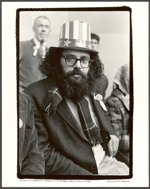 , 'Alan Ginsberg at Peace Rally, Central Park, March 26, 1966,' 1966, Be-hold
