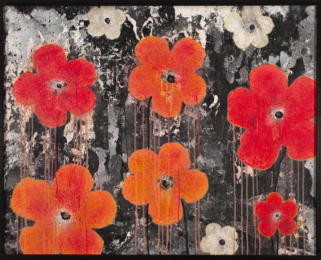Helen K. Tindel, 'Pantone Poppies', 2019, Blue Rain Gallery
