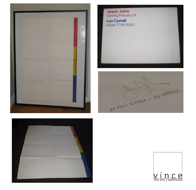 ", '""Ruler"" Exhibition Invitation/Poster  ,' 1968, VINCE fine arts/ephemera"