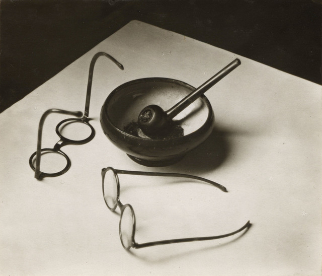 , 'Mondrian's Glasses and Pipe, Paris,' 1926, PHOTOFAIRS | Insights