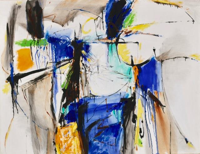 , 'So Black & Blue,' 2012, Yebo Art Gallery