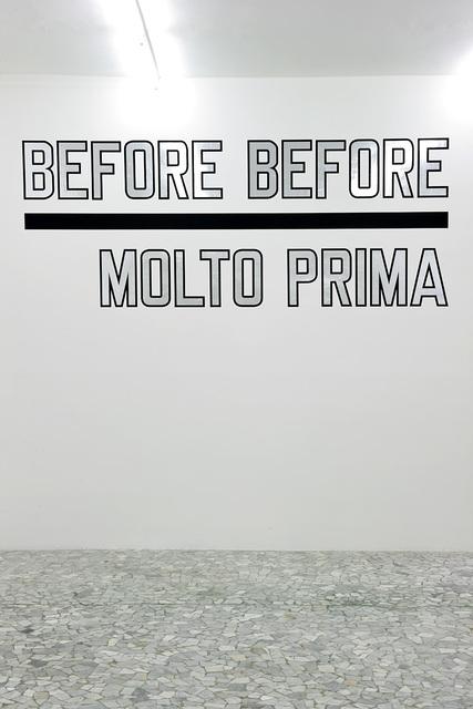 , 'BEFORE BEFORE,' 2012, Alfonso Artiaco