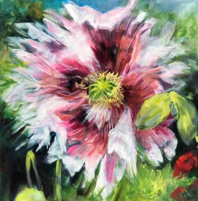 Jamie Evrard, 'Fringed Poppy', 2019, Bau-Xi Gallery